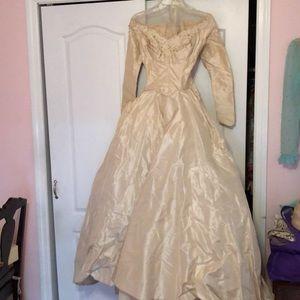 Dresses & Skirts - Vintage wedding gown 1953